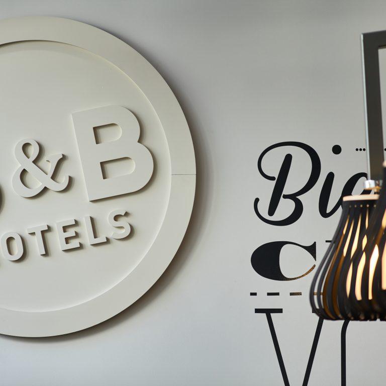 B&B Hôtels accueil