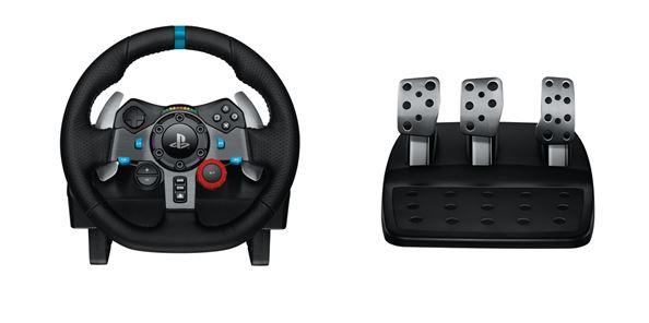 logitech g pr sente le g29 driving force son nouveau volant de course pour playstation 4. Black Bedroom Furniture Sets. Home Design Ideas