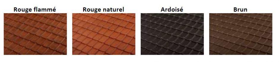 C te fleurie pv de terreal une tuile moderne et performante pour les toitures typiques du nord for Type de tuile