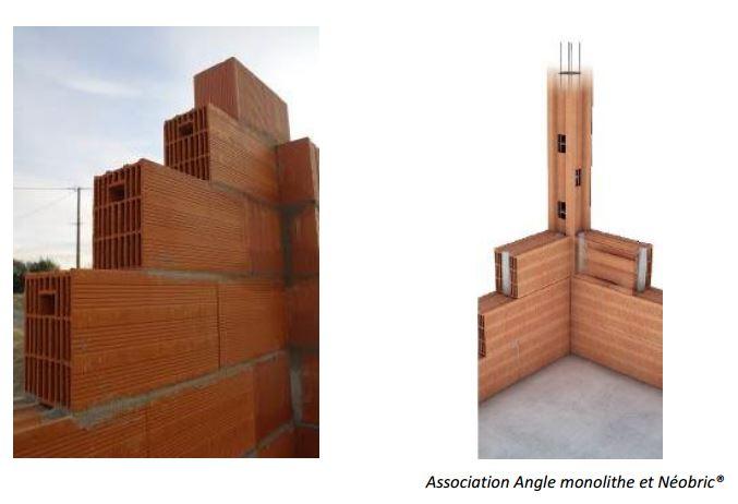Brique terreal construction maison b ton arm - Construction maison en beton arme ...